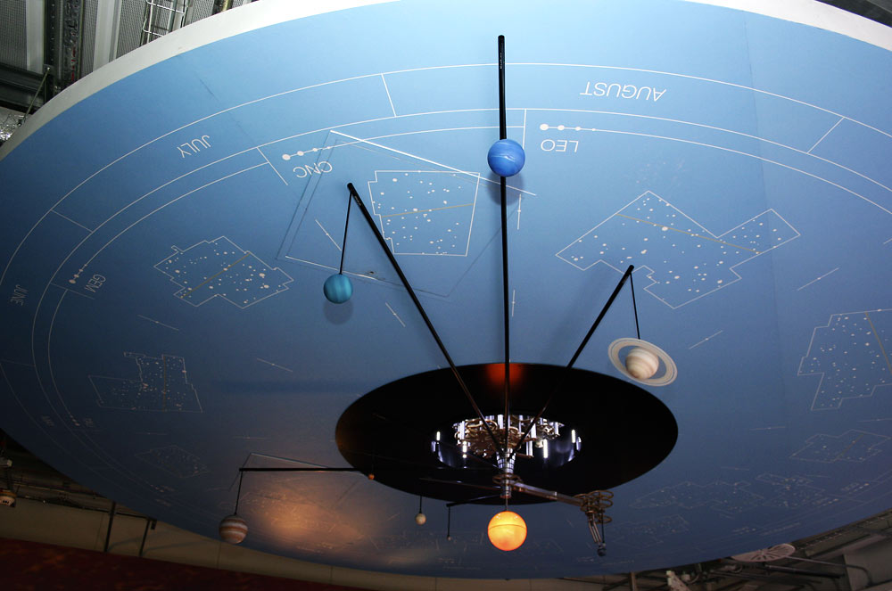 The Orrery at Jodrell Bank, Cheshire, UK