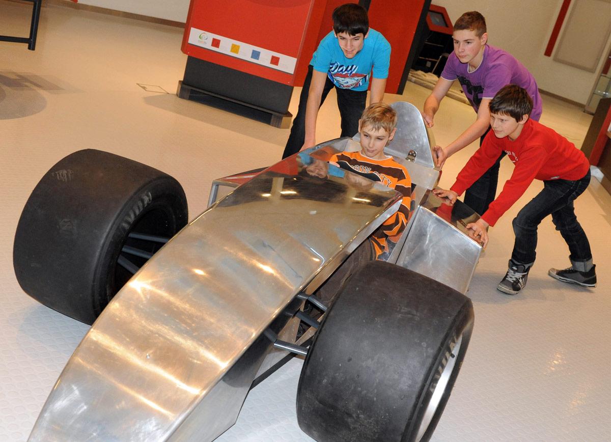 Drive a Racing Car